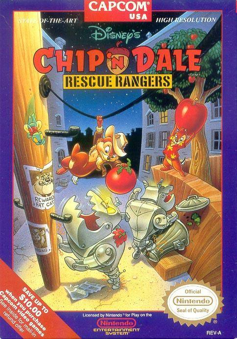 Chip and Dale Rescue Rangers